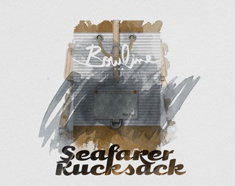 SEAFARER Handmade Rucksack