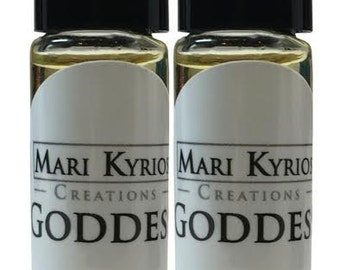 2 pack Egyptian Goddess Musk Oil - Mari Kyrios Fine Perfume Blends Healing Auric Energy
