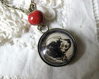 Cumber Spaniel pendant necklace
