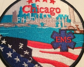 Chicago Fire EMS patch