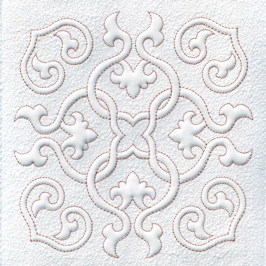 Quilting Trapunto Designs : Quilt Blocks, Quilting, Trapunto, Hearts and Swirls, Machine Embroidery Design, Digital Pattern ...