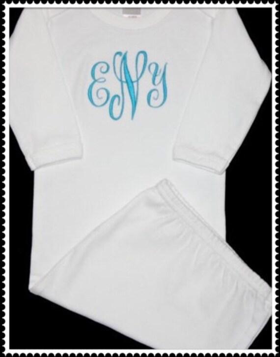 Newborn Layette Gown
