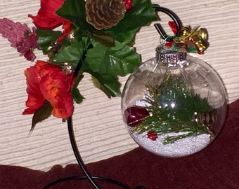 Christmas in a Clear Orb