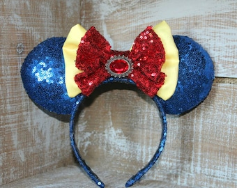 Sparkle Snow White Inspired Ears