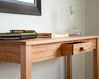 Solid Tasmanian Oak Hall Table