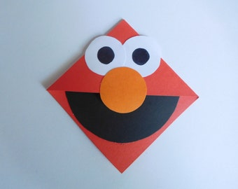 Elmo Corner Bookmark