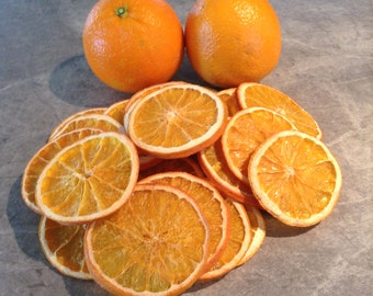 25 Dried Orange Slices - Great for craft projects, potpourri and home decorating.