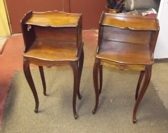 Pair of 1800's End Tables