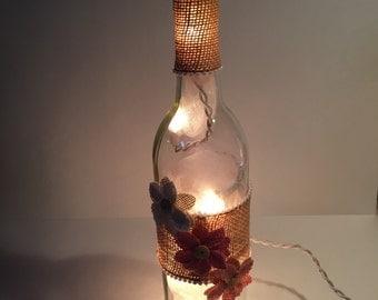 Pink Lighted Bottle