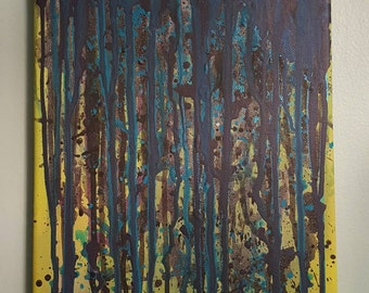 The Mash - Acrylic Painting - Original Canvas Art