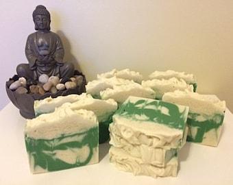 Coconut Lime Vegan Cold Process Soap