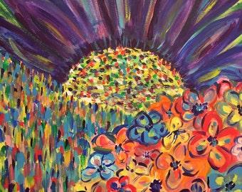 colour garden fantasy