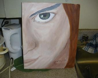 Girl with Green Eye