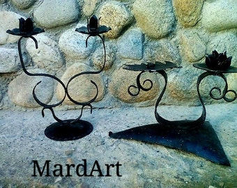 Two candlesticks from Mardart