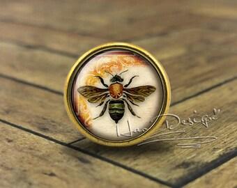 Bee knob | Etsy