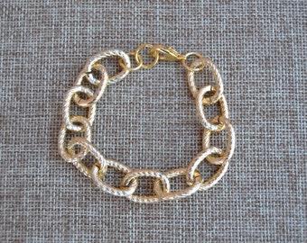 Signature Gold Link Bracelet