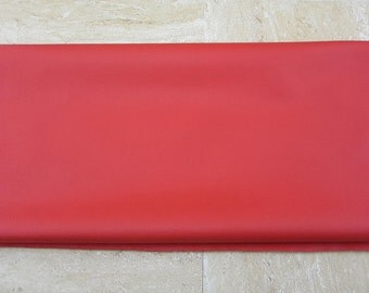 Red PU Leather Fabric 50cm x 65cm