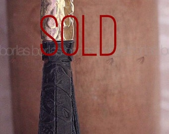 Hand made leather Tassel-Borla
