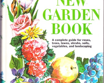 Better Homes and Gardens New Garden Book 1975 Ring Bound Hardcover