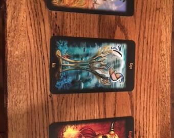 Tarot Reading - Three Card Spread