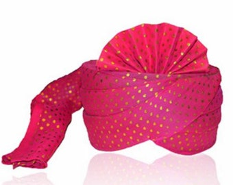 Indian Wedding Pagdi Safa headpiece