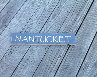 Nantucket Sign, Nantucket Massachusetts, Coastal, Nautical, seaside, shells,starfish,beach, coast,beachy