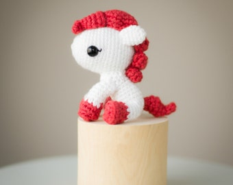 Chinese New Year Pony Crochet Pattern