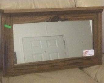 Sinker Cypress Hall Mirror w/ Shelf