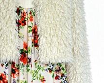 Homemade Vintage 70's Retro Floral Boho Blouse