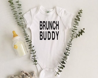 Brunch Buddy Baby Bodysuit
