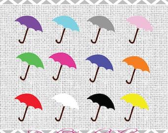 12 Digital Umbrellas