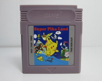 Super Pika Land fan made hack GBC Gameboy Color Mario Land Pikachu