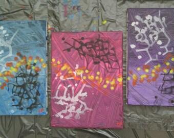 Life path, Original abstract art painting