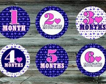 Baby monthly milestone stickers. Baby onsie stickers. Baby stickers. Tummy Tokens.