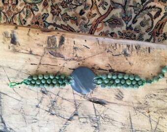 Green Seed bracelet