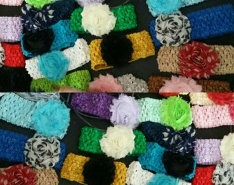 Baby floral headbands