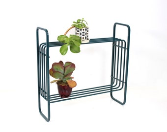 Deco Plant Stand Teal Metal Powdercoated