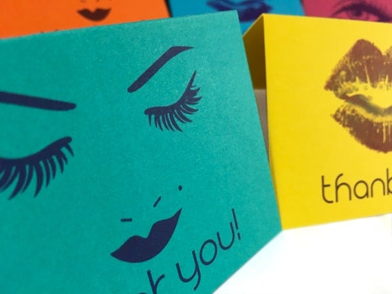 Thank You Cards Multi Colored Level With Envelopes