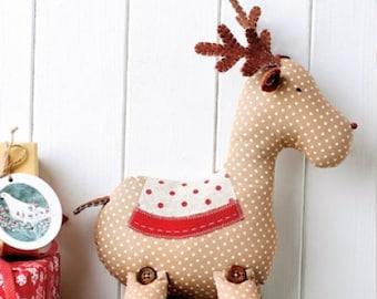 Reindeer sewing pattern pdf instant download