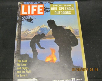 Life Magazine December 22, 1961 Our Splended Outdoors Special Issue