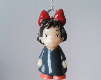 3D pendant necklace. Anime. Kiki's Delivery Service. Brand New. Handmade.
