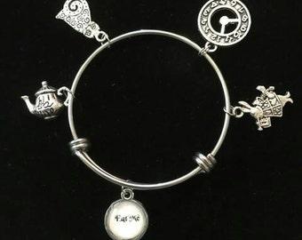 Alice in Wonderland Charm Bracelet 1