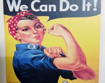 Rosie the Riveter Post Card