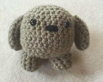 Small Stuffed Dog, Stuffed Animal Ball, Stuffed Puppy, Crochet Puppy, Crochet Dog, Little Stuffed Puppy, Cute Stuffed Puppy, Plush Dog,Puppy