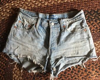Vintage Levi's cut off shorts