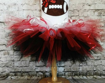 Az Cardinals tutu dress, team spirit tutu, football team tutu, birthday tutu, red and black tutu, cardinals tutu, football tutu