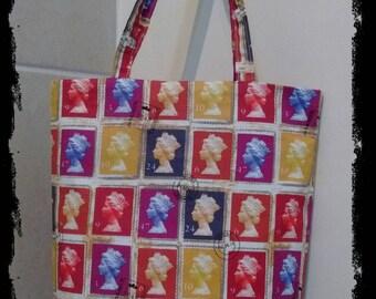 Postage stamp bag