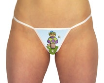 Teemo Shroom League Of Legends Underwear Inspired Design - LOL Thong - RIOT Champions Geeky PC Game League Clothing