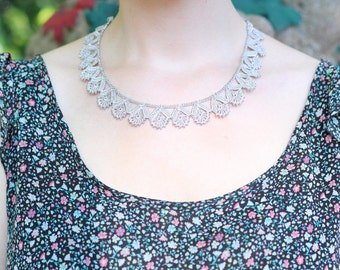 Crocheted Necklace Nil NGG