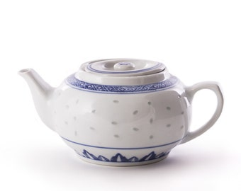 Blue & White Teapot
